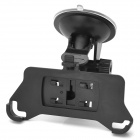 180 Degree Rotatable Suction Cup Car Mount Holder for iPhone 5 - Black
