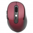 2.4GHz 1000/1600dpi Wireless Optical Mouse w/ USB Receiver - Black (2 x AAA)