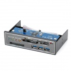 USB 3.0 Multi-function Internal All-in-One Card Reader E-SATA Hub Box