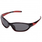 CARABAO K-801 Outdoor Riding PC Frame Resin Lens Protection Polarized Sunglasses - Black + Orange