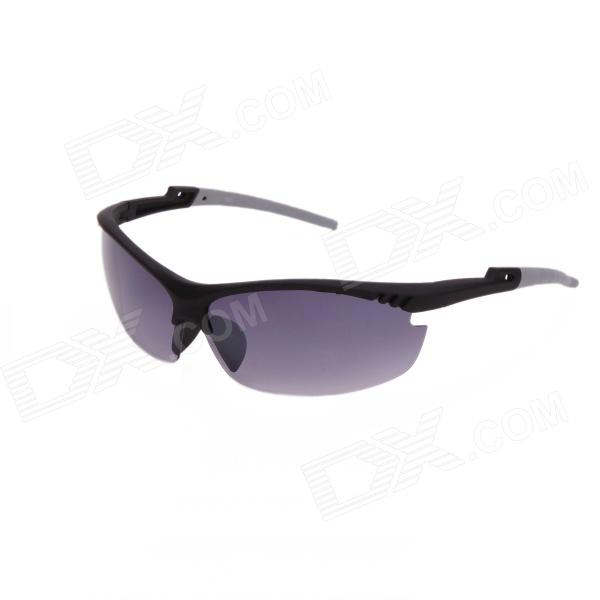 Xidunlang Y925 Outdoor Riding UV400 Resin Lens Eye Protection Goggle Sunglasses - Black