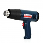 KTM C08 1800W Electric Hot Air Heat Gun - Black + Blue (220V)