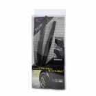 Universal Car Fender Flares Wheel Lip - Black (2 PCS / 25cm Length)