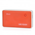 D12090027 All-in-1 Hi-Speed USB 2.0 Card Reader - Orange Red