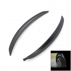 Universal Car Fender Flares Wheel Lip - Black (2 PCS / 33cm Length)