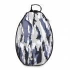 Outdoor Turtle Shell Style Backpack Double-Shoulder Bag - Camouflage
