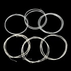 Alice AOD-12 Acoustic Silver-Plated Copper Alloy Wound Nylon Oud Guitar Strings - White (6 Pairs)