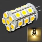 G4 3.2W 288lm 24-SMD 5050 LED Warm White Light Bulb (12V)
