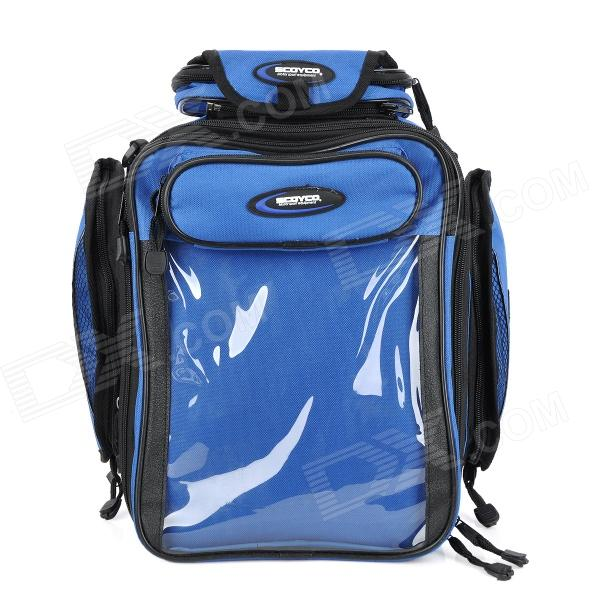 Scoyco MB09 Multi-Function Motorcycle Fuel Tank Bag - Blue + Black