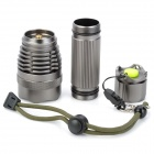 RAYSOON  RS-F8 Cree XM-L T6 900lm 5-Mode White Light Flashlight - Silver Grey (1 x 26650)