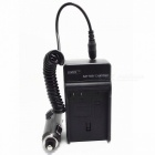 Nikon EN-EL15 Battery Charging Cradle w/ Car Charger for Nikon D7000 (100~240V / 2-Flat-Pin Plug)