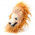 Lion Pattern Foam + Plush Mask for Cosplay / Halloween Costume - Yellow