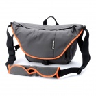 BESNFOTO BN2004 Water Resistant Protective Nylon Fabric Camera Shoulder Bag w/ Rain Cover