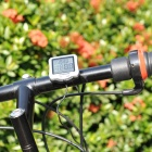 "1.5"" LCD Screen Water Resistant Plastic Bicycle Computer w/ Base + Sensor - Silver (1 x CR2032)"