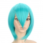 Cosplay Fashion Long Straight Hair Wig for Hatsune Miku - Turquoise Blue