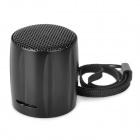 E-129 Tragbarer Mini Media Player Speaker w / TF / FM - Black