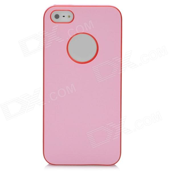 Protective Plastic Back Cover Case for Iphone 5 / 5s - Pink ipega i5056 waterproof protective case for iphone 5 5s 5c pink