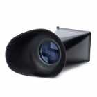 2.8X LCD Viewfinder for Nikon D700, Canon 5D Mark II + More - Black