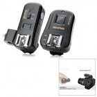 NiceFoto N-16NE 6-in-1 2.4GHz Wireless Remote Flash Trigger w/ Umbrella Holder Set for Nikon DSLRs
