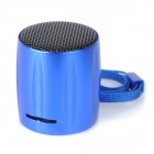 E-129 Portable Mini Media Player Speaker w/ TF / FM - Blue