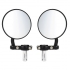Round Motorcycle Rearview Mirrors
