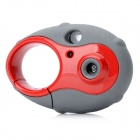 Keychain Style Mini 300KP CMOS Kids Digital Camera Toy - Red + Grey