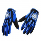 Scoyco A012-XL Fashion Full-Fingers Motorcycle Racing Gloves - Blue + Black (Pair / Size XL)