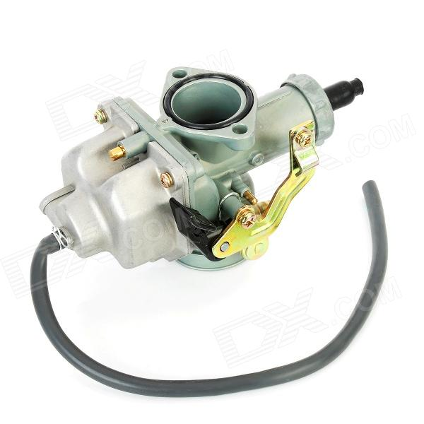 DIY Zinc Motorcycle Carburetor for Honda CG150 - Grey + Silver