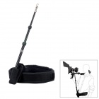 F&V Spring Retractable Shoulder Mount DSLR Rig Support Rod w/ Belt for Video Camera Camcorder