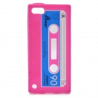 Cassette Tape Style Protective weichen Silikon Case für iPod Touch 5 - Pink