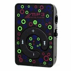 Mini Pressing Button MP3 Player w/ TF - Black