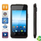 "A900 Android 4.0 WCDMA Bar Phone w/ 4.1"" Capacitive Screen, Wi-Fi, GPS and Dual-SIM - Coffee"