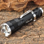 Prairie Fire D17 Cree XM-L T6 900lm 5-Mode White Light Zooming Flashlight - Black (1 x 18650)