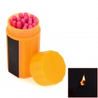 Outdoor Windproof + Waterproof Match - Orange (20 PCS)