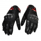 Scoyco MC12 Full-Fingers Motorcycle Racing Gloves - Black (Pair / Size M)