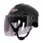 Cool Motorcycle Outdoor Sports Racing Bright Helmet - Bright Black