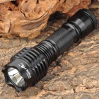 Prairie Fire T21 Cree XM-L T6 900lm 5-Mode White Light Diving Flashlight - Black (1 x 18650)