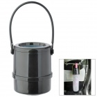 Car Retractable Waste Basket Umbrella Holder - Black