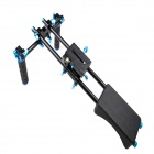 RL-04 Professional Shoulder Mount Support Kit for DSLR Cameras - Black + Blue
