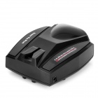 Full Band Car Radar Detector English Voice for GPS Navigator - Black