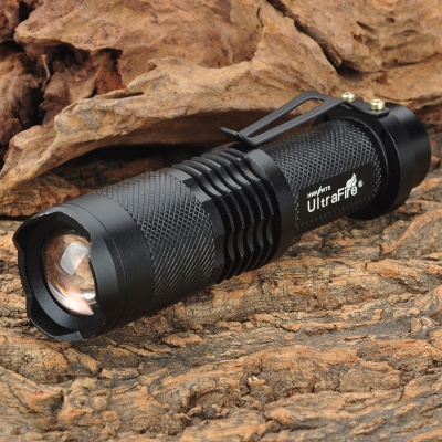 UltraFire SH98 910lm 3-Mode White Light Zooming Flashlight w/ XM-L T6