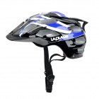 LAPLACE Q3 Outdoor Sports Cycling Helmet w/ Channeled Vents - Blue + White + Black (52~60cm)