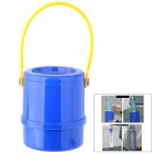 Car Retractable Waste Basket Umbrella Holder - Blue