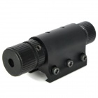 5mW Aluminum Alloy Red Dot Laser Scope w/ Horoscope Clip + Dual Switch - Black (1 x CR123A)
