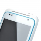 "DAXIAN G20 Android 4.0 GSM Bar Phone w/ 4.0"" Capacitive Screen, Quad-Band and Wi-Fi - White + Blue"