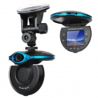 "AST-510 2.0"" TFT 3.0MP CMOS Wide Angle Digital Car DVR Camcorder W/ 4-LED IR Night Vision"