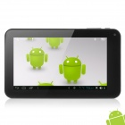VIA WM8850 7 inch Cortex A9 Android 4.0.3 Tablet PC Dual Camera / 1GB / HDMI  - White