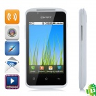 "CF700 Android 2.3 GSM Bar Phone w / 3,5 ""kapazitiven Bildschirm, Dual-Band, Wi-Fi - White"
