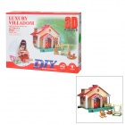 36877HK-3 Educational Toys 3D Luxury Villadom w/ Light and Music - Colorful