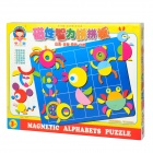 C021 Magnetic Intelligent Education Picture Puzzle Toy - Colorful